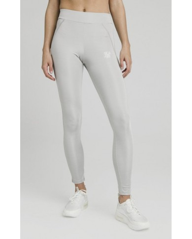 Sik Silk Disco Leggings Silver