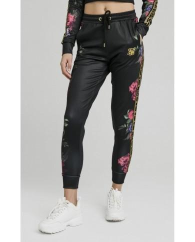 Sik Silk Oil Paint Track Pants Black