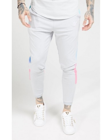 Sik Silk Scope Sprint Fade Panel Track Pants