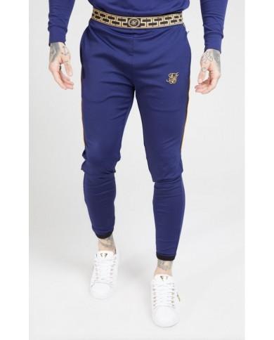 Sik Silk Scope Track Pants Navy & Gold