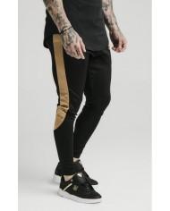 Sik Silk Scope Satin Panel Track Pants
