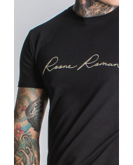 Roone Roman Black Signature Tee