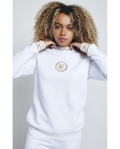Sik Silk Luxury Sweatshirt White