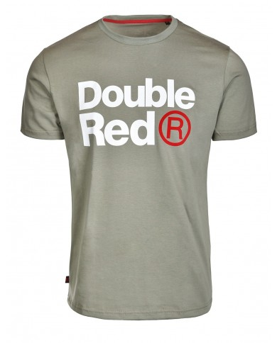 Double Red Trademark T-Shirt Olive