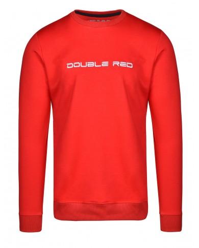 Double Red Elegance Sweatshirt