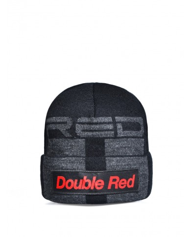 Double Red Street Hero Trademark Black Cap