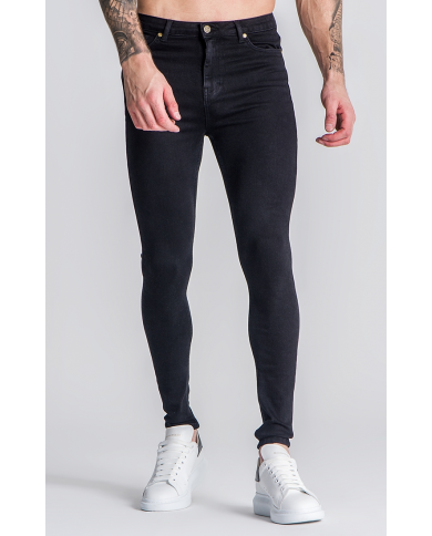 Gianni Kavanagh Black GK Plaque 2.0 Jeans
