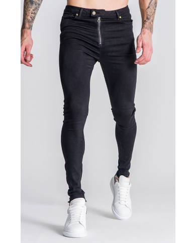 Gianni Kavanagh Black Mechanic Jeans