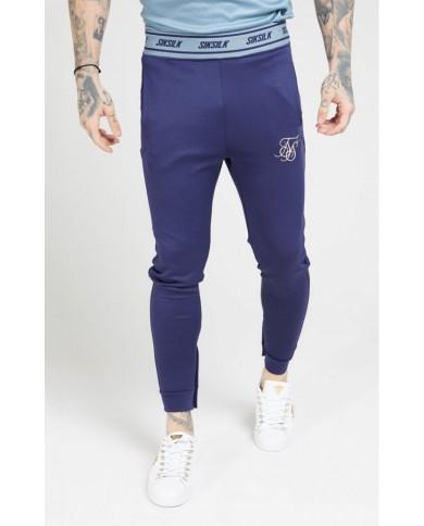 Sik Silk Agility Track Pants Urban Blue