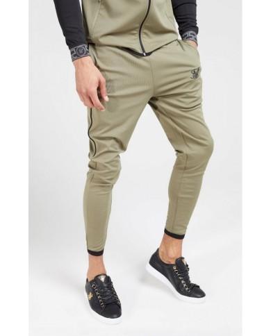 Sik Silk Scope Track Pants Khaki
