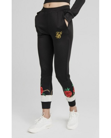 Sik Silk Majestic Track Pants Black