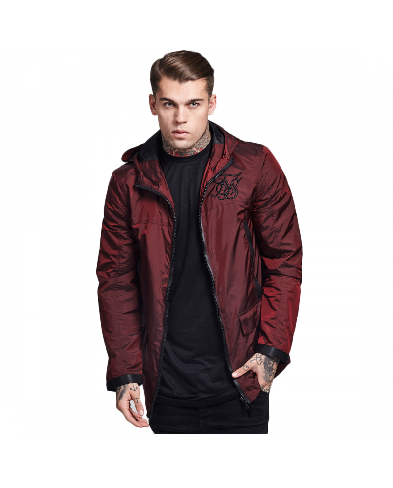 Sik Silk Vapour Burgundy Jacket
