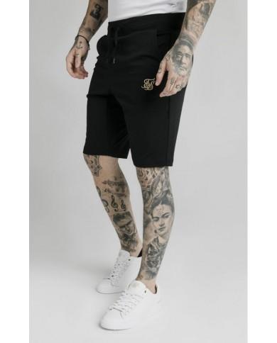Sik Silk  Scope Zonal Shorts Black & Gold